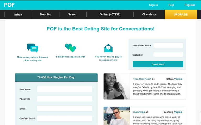 Plenty Of Fish / POF - Reviews, Cost, all the informations!