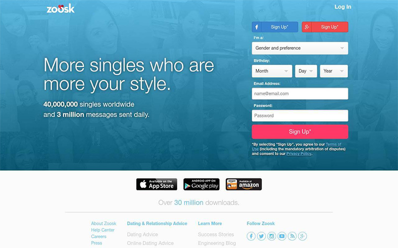 zoosk dating site free trial sites