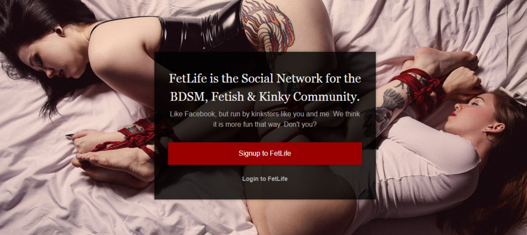 fetlife homepage